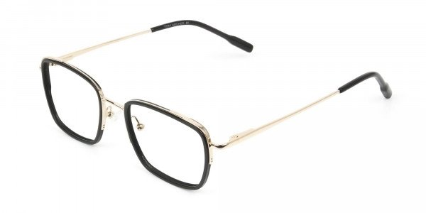 Spider Man Glasses in Black & Gold - 3