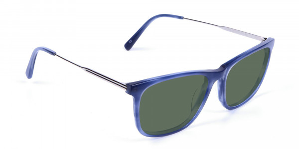 Dark Green Tinted Sunglasses - 2