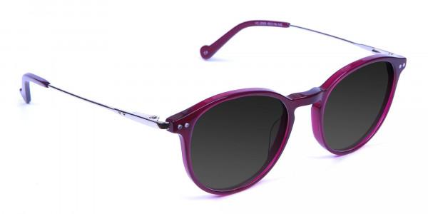 Burgundy Sunglasses - 2