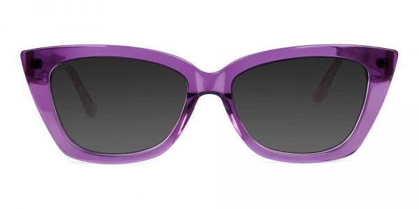 Purple-Cat-Eye-Sunglasses-in-Grey-Tint-1