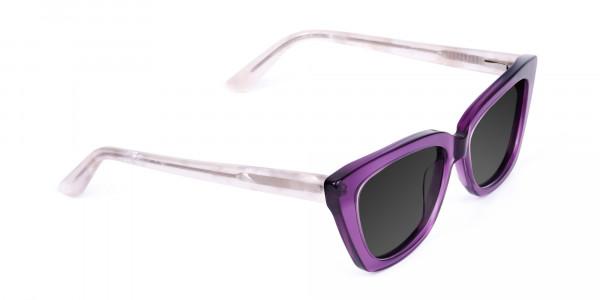 Purple-Cat-Eye-Sunglasses-in-Grey-Tint-2