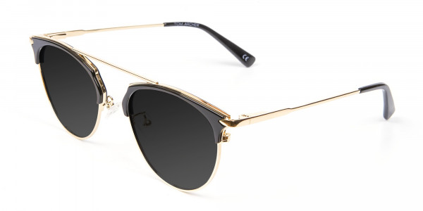 Black and Gold Sunglasses - 3