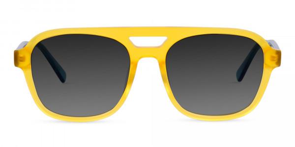 Yellow-Aviator-Sunglasses-with-Grey-Tint-1