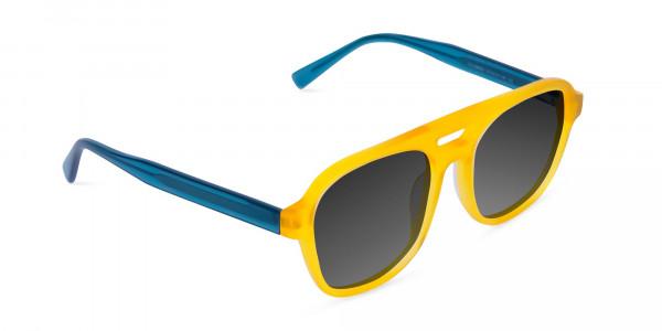 Yellow-Aviator-Sunglasses-with-Grey-Tint-2