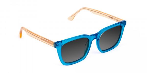 Blue-Wayfarer-Sunglasses-with-Grey-Tint-2