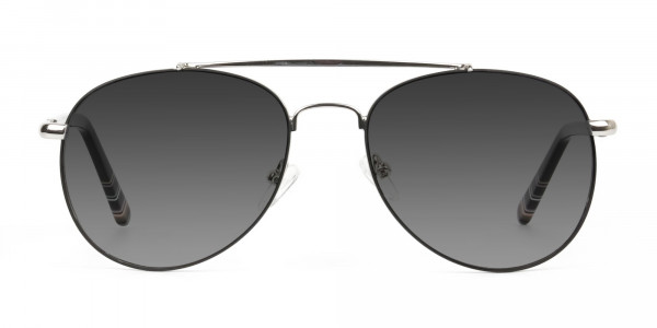 black-silver-fine-metal-grey-tinted-aviator-sunglasses-1