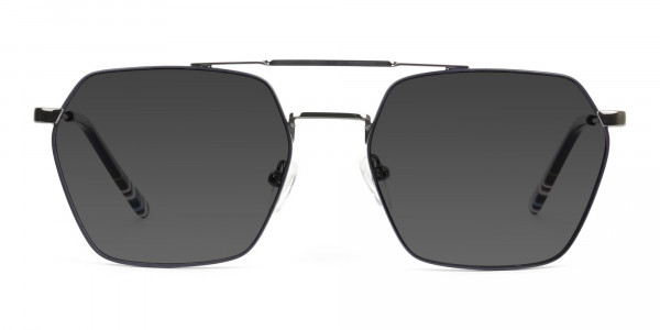 dark-navy-gunmetal-grey tinted-thin-frame-sunglasses-1