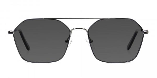 dark-royal-blue-geometric -gunmetal-aviator-grey-tinted-sunglasses-1