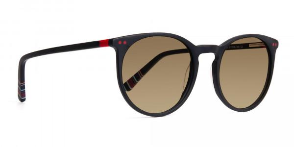 matte-black-designer-round-brown-tinted-sunglasses-frames-2