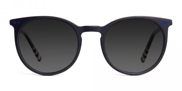 matte-black-designer-indigo-blue-grey-tinted-sunglasses-frame-1
