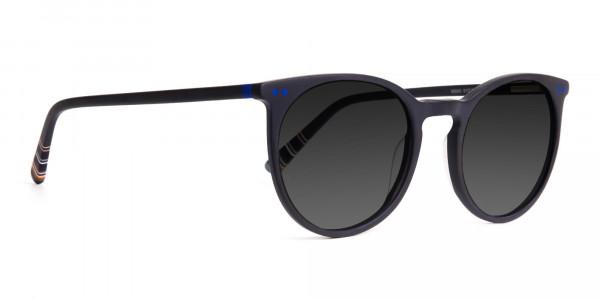 matte-black-designer-indigo-blue-grey-tinted-sunglasses-frame-2
