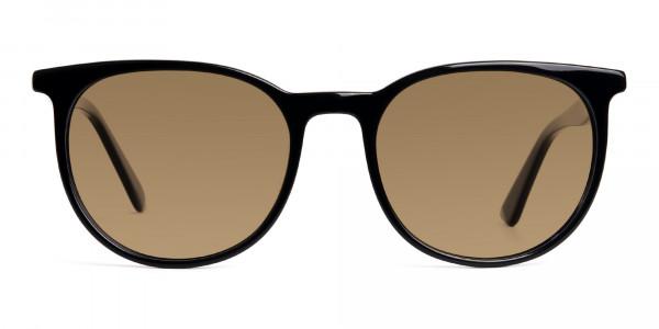 shiny-black-full-rim-round-designer-brown-tinted-sunglasses-frames-1