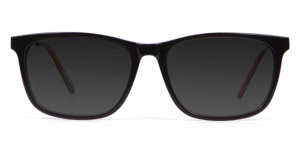 Multicolor Frame Sunglasses - 1