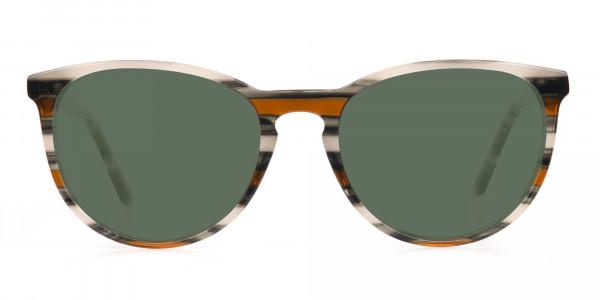 Dark Green Sunglasses - 1