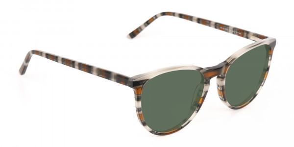 Dark Green Sunglasses - 2