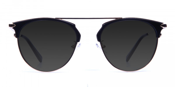 Black and Gold Sunglasses - 1