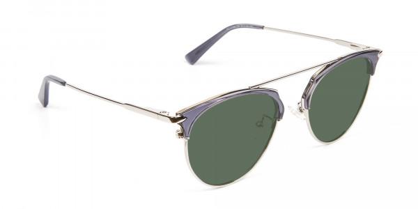 Translucent Frame Sunglasses 2