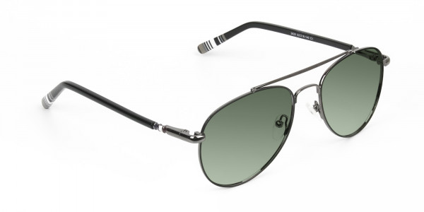 gunmetal-black-and-green-tinted-full-rim-aviator-sunglasses-frames-2