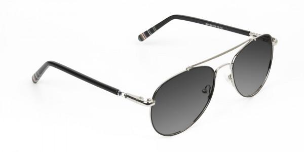 black-silver-fine-metal-grey-tinted-aviator-sunglasses-2