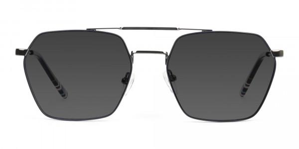dark-navy-gunmetal-grey tinted-thin-frame-sunglasses-1