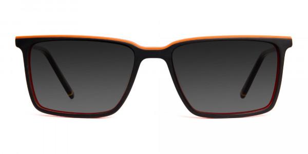 black-and-orange-rectangular-full-rim-grey-tinted-sunglasses-frames-1