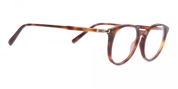 Salvatore Ferragamo SF2123 Retro Round Glasses Tortoise-2
