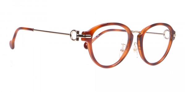 Salvatore Ferragamo SF2826 Women Round Glasses in Tortoise-2