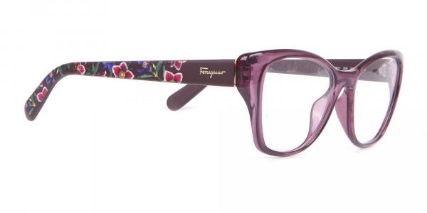 Salvatore Ferragamo SF2827 Cateye Wayfarer Glasses Purple-2