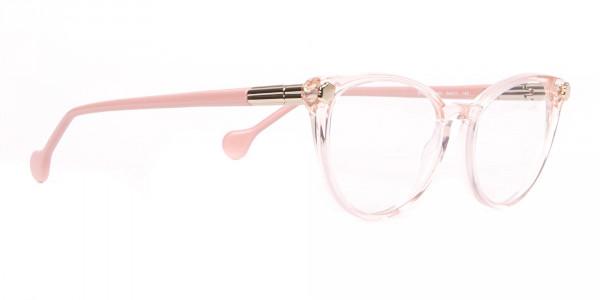 Salvatore Ferragamo SF2837 Women's Cateye Glasses Rosy Pink-2