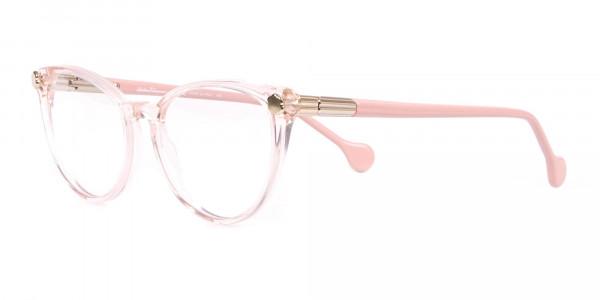 Salvatore Ferragamo SF2837 Women's Cateye Glasses Rosy Pink-3