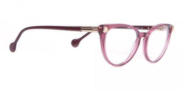 Salvatore Ferragamo SF2837 Women's Cateye Glasses Wine-2