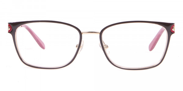 Salvatore Ferragamo SF2159 Women's Rectangular Frame Brown-1