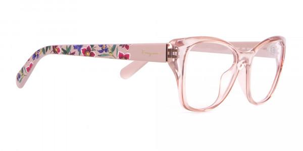 Salvatore Ferragamo SF2827 Cateye Wayfarer Glasses Nude-2