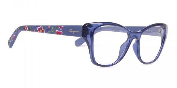 Salvatore Ferragamo SF2827 Cateye Wayfarer Glasses Blue-2