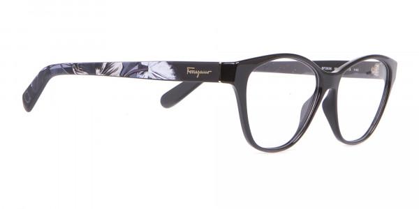 Salvatore Ferragamo SF2836 Women's Cat Eye Glasses Black-2