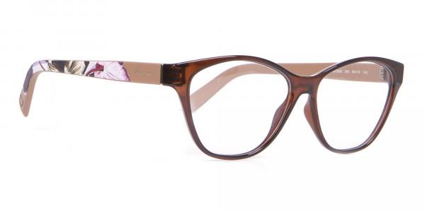 Salvatore Ferragamo SF2836 Women's Cat Eye Glasses Brown-2
