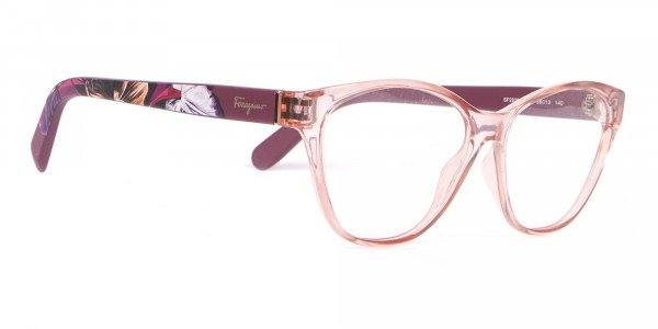 Salvatore Ferragamo SF2836 Women's Cat Eye Glasses Nude-2