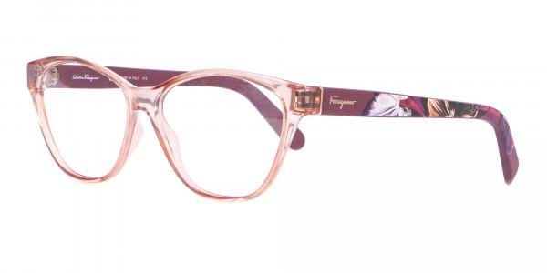 Salvatore Ferragamo SF2836 Women's Cat Eye Glasses Nude-3