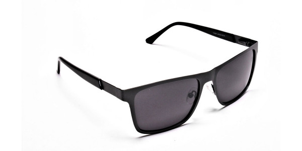 Dark Metal Sunglasses - 1