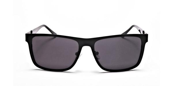 Designer Black Wayfarer Sunglasses
