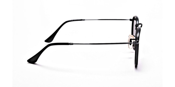 Black Round Sunglasses Online - 3