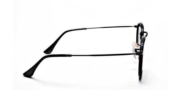 Purple Round Sunglasses for Men and Women - 3