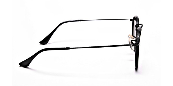 Mirrored Round Sunglasses - 3