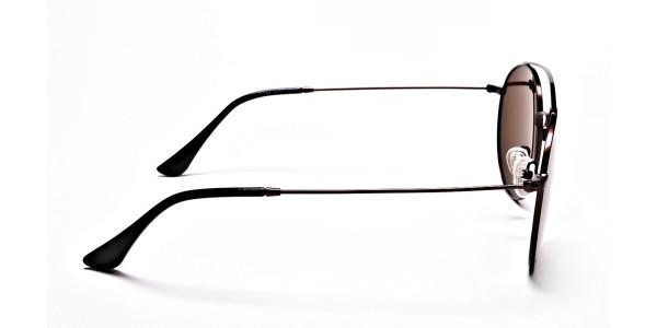 Brown Round Sunglasses - 3