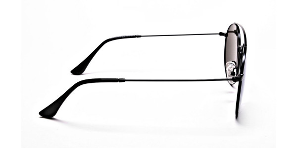 Blue Round Sunglasses Online - 3