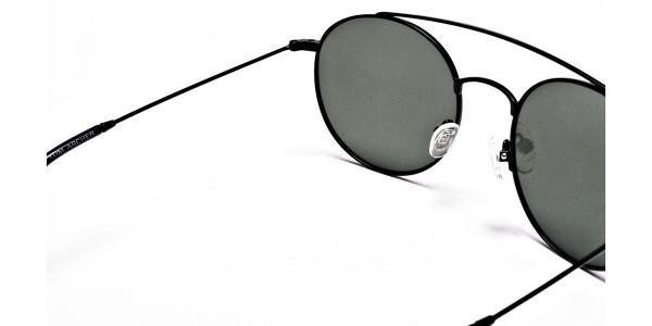 Green Round Sunglasses - 4