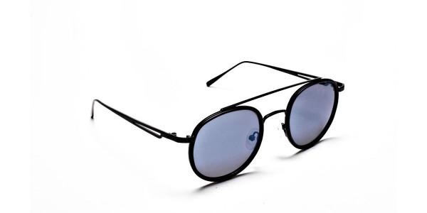 Classic Double-Bridged Sunglasses - 1