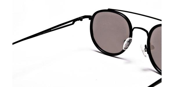 Classic Double-Bridged Sunglasses - 4