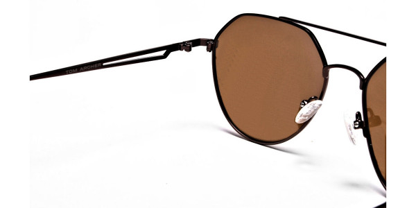 Classic Brown Style Avatar Shades -3