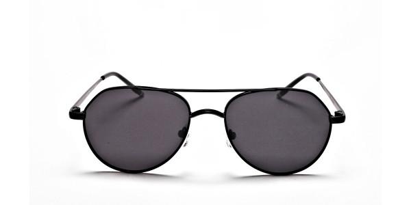 Black & Grey Tinted Sunglasses